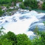 Rhine Falls, Switzerland -- The vast Rhine Falls
