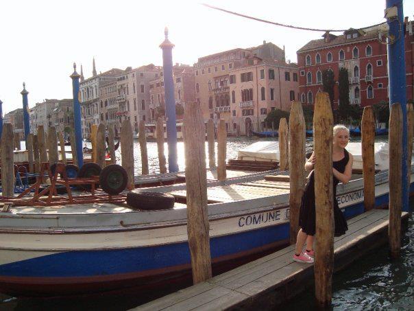 Gina Carli in Venice