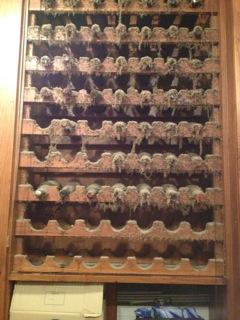 Dusty Wine Rack