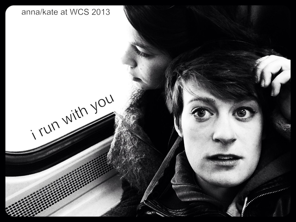 I run with you