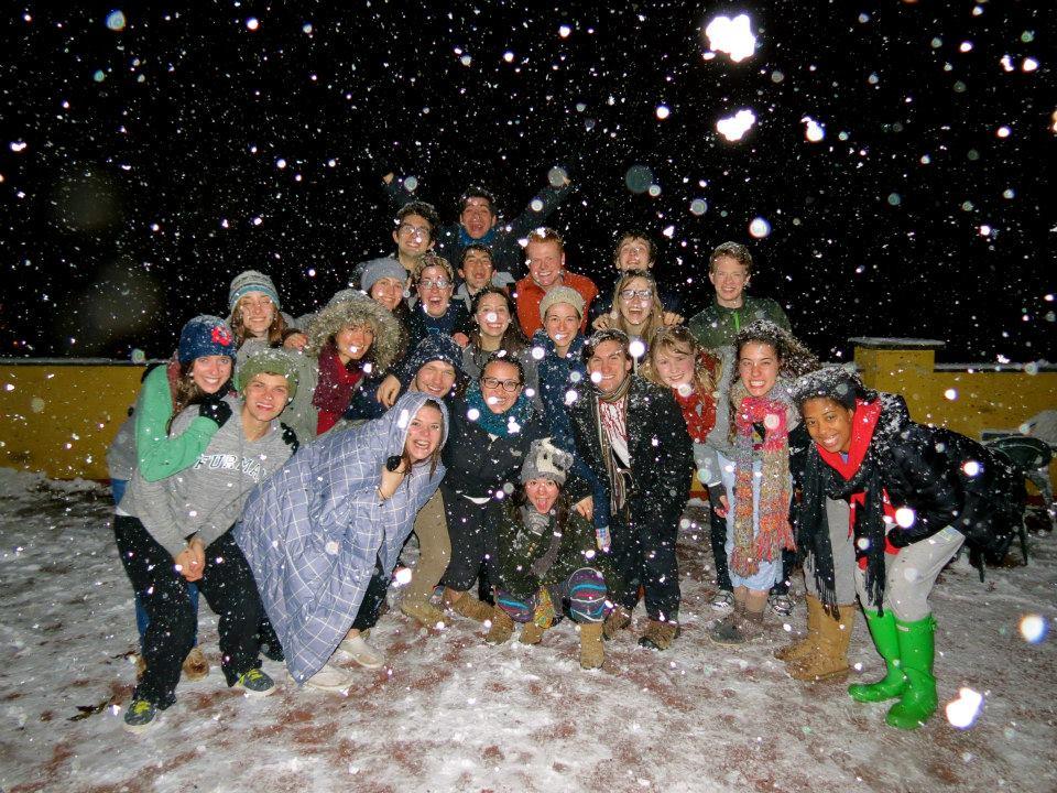 Snow group fall 13