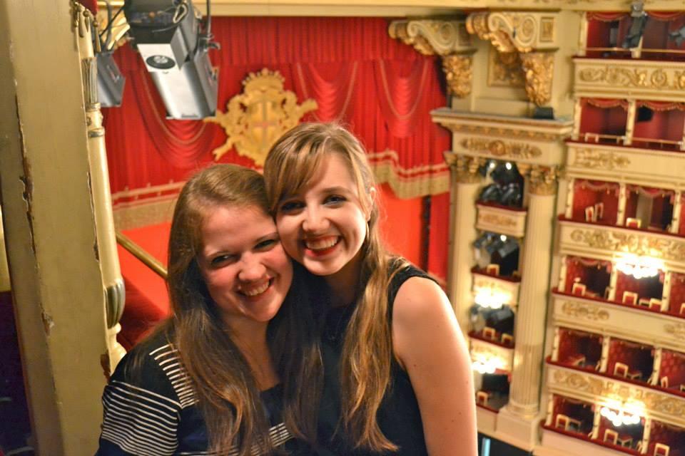 Katy and Joanna