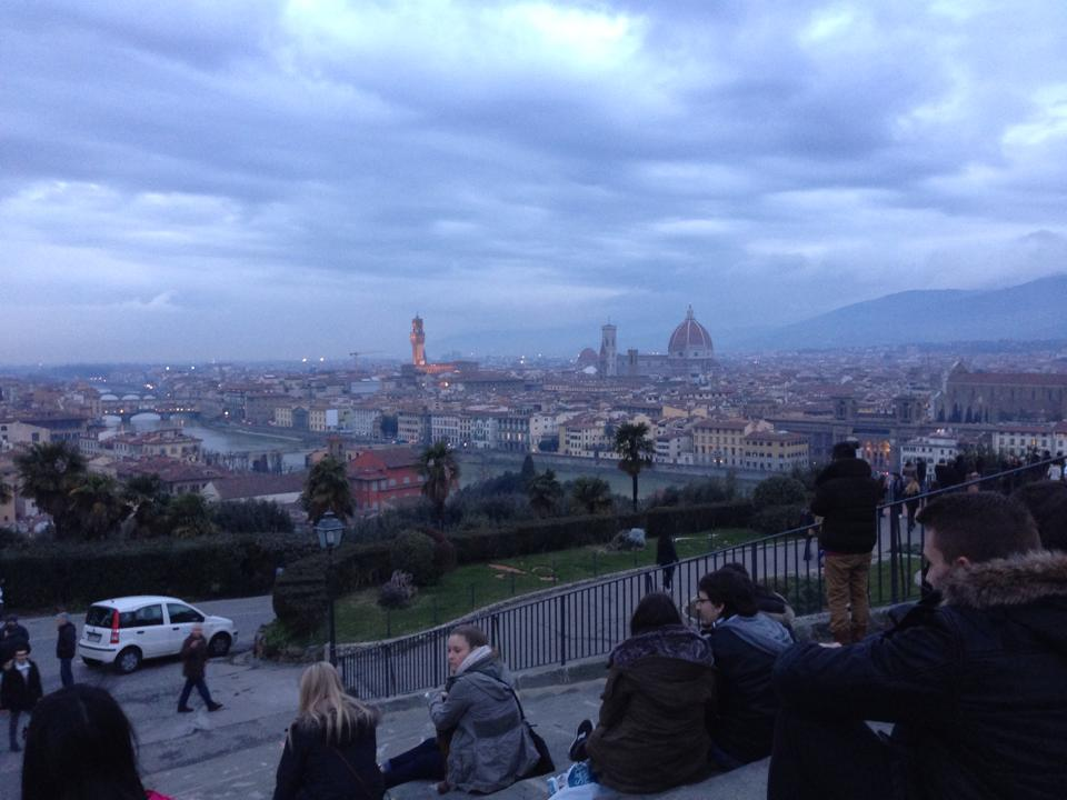 Florence, as viewed from Piazzale Michelangelo