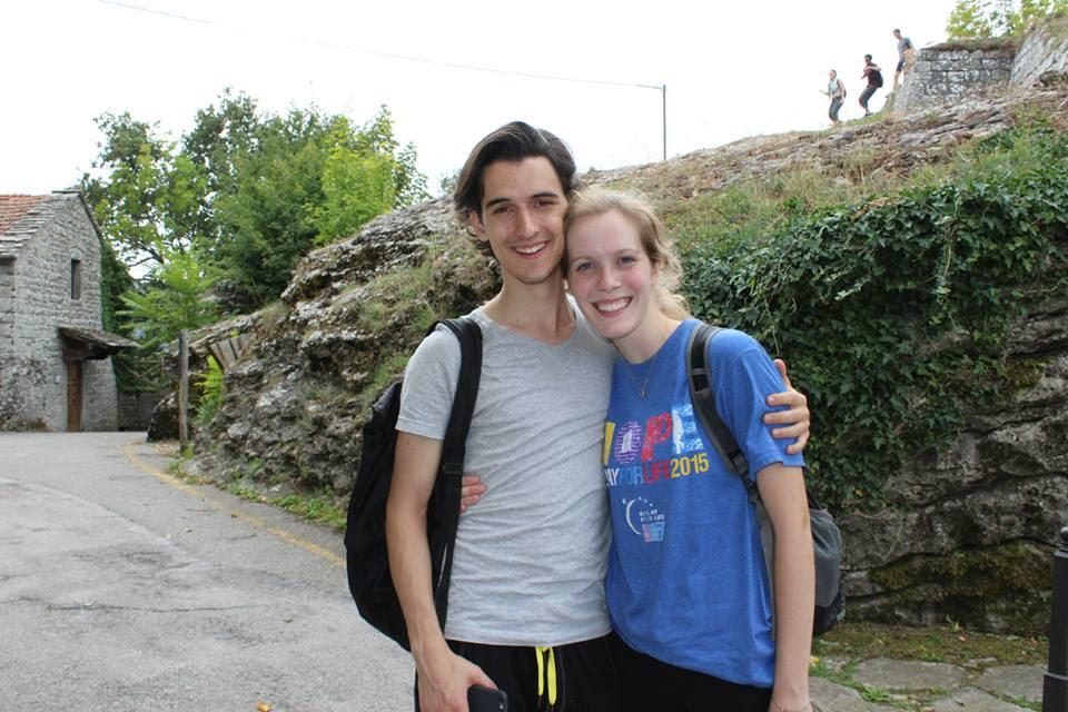 Pictured from left: Jake Parisse, Liv Amundsen Photo credit: Jake Parisse