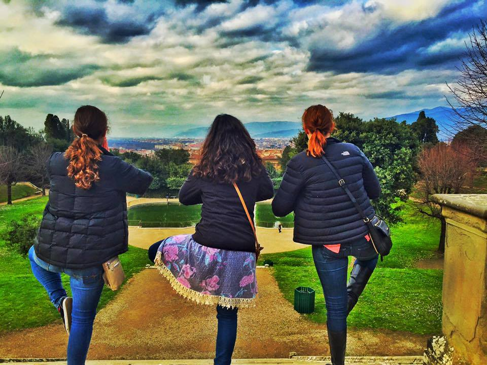 Pictured from left: Hannah Donoghue, Emily Peiffer, Laura Mullaney