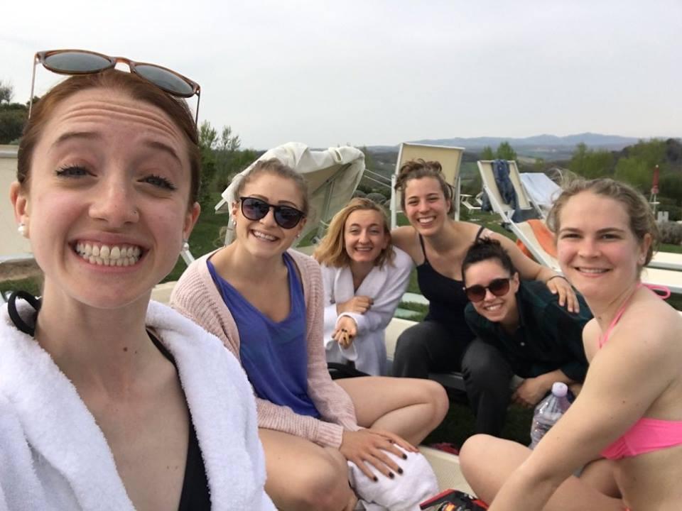 Pictured from left: Maia Potok-Holmes, Allison Rapisardi, Julia Krawczyk, Olivia Wood, Annie Corrao, Sydney Burrows