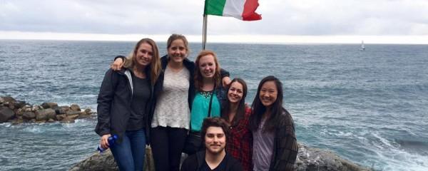 Pictured from left: Michelle Ciccotelli, Vassileia Kazee, Laura Mullaney, Joe Boyce, Maddie Sosnowski, Emily Eldridge-Ingram