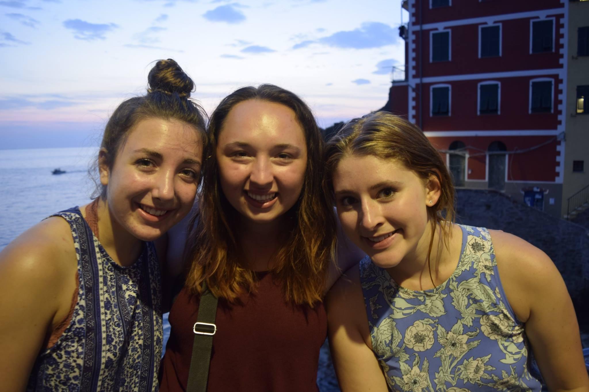 Pictured from left: Emma Peretz, Sydney Watt, September McCarthy Photo by Nikk Tetreault
