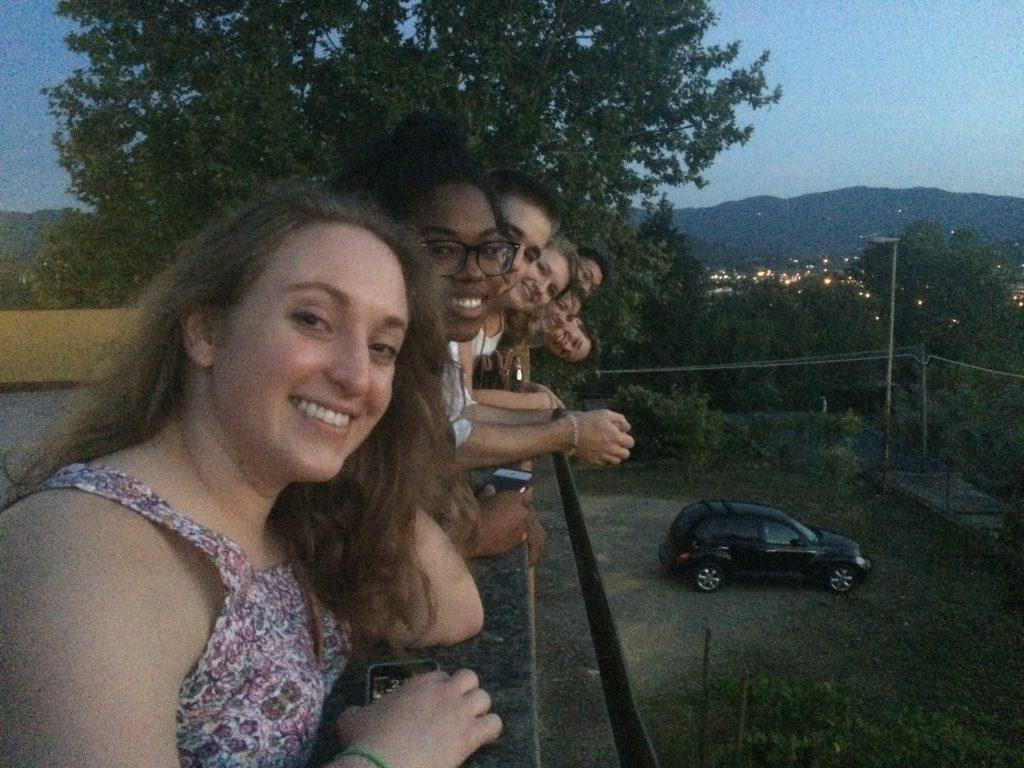 Pictured from left: Korilyn Hendricks, Sydney Copeland-Goodman, Briar White