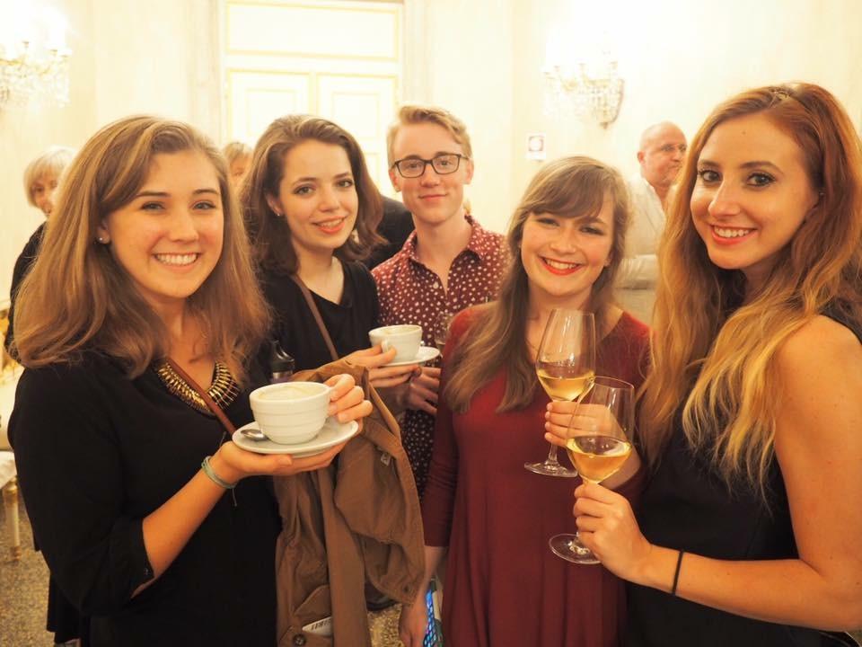 Pictured from left: Mary Allison Hoover, Annabelle Martin, Ben Hartman, Mollie Foster, Caroline Violante