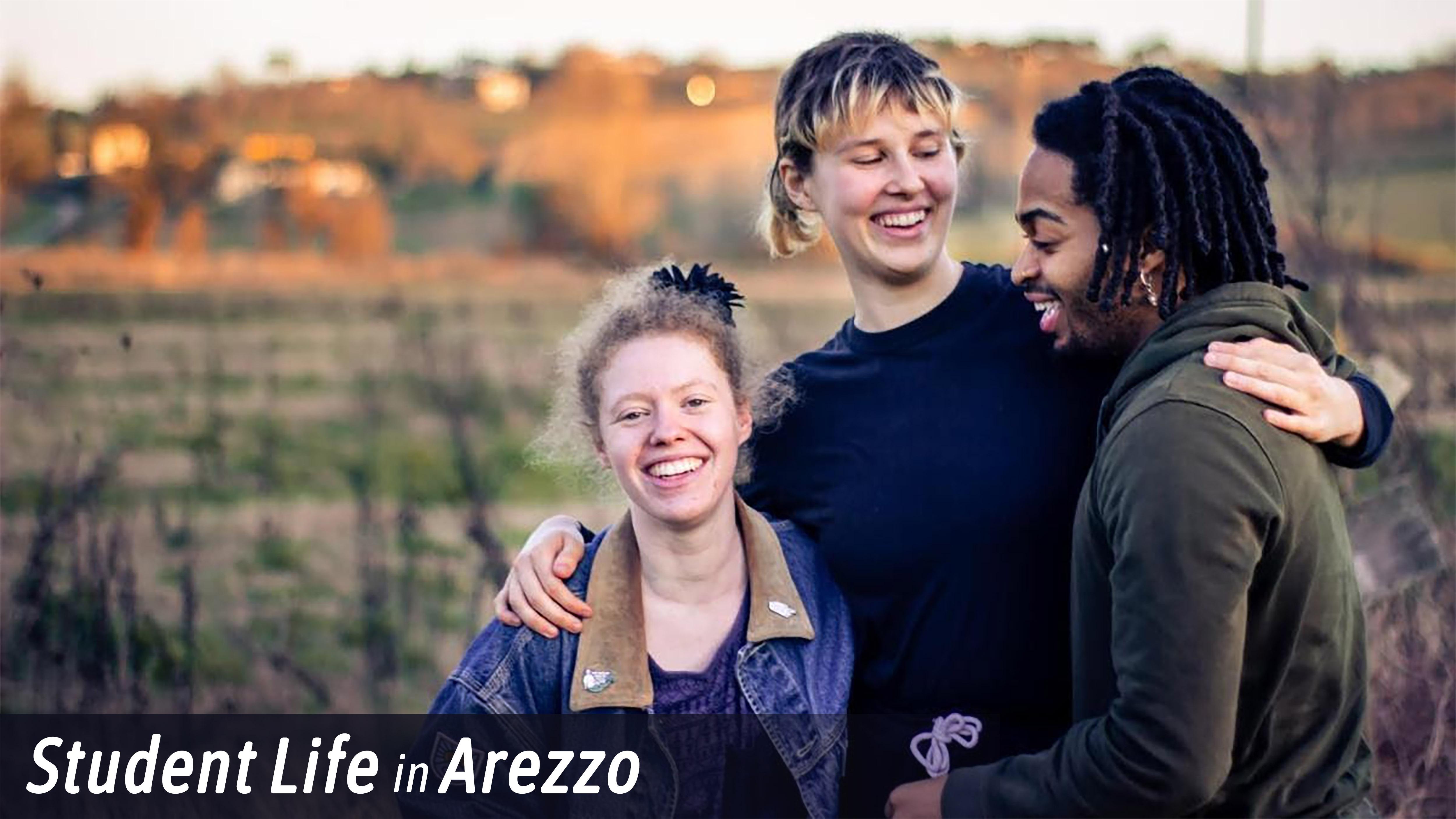Student Life in Arezzo NL Header